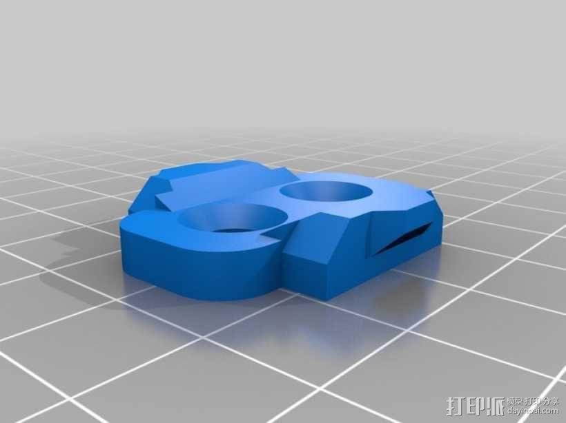 自行车曲杆 3D模型  图2