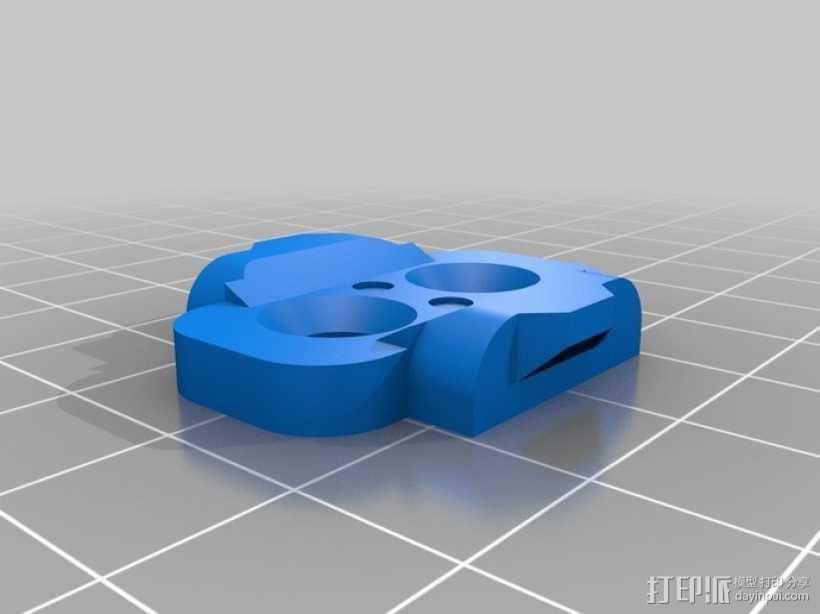自行车曲杆 3D模型  图3