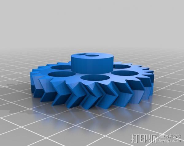 概念数控器 3D模型  图2