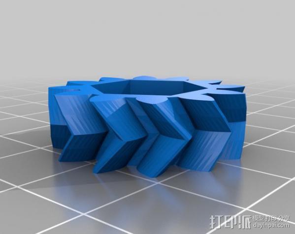 概念数控器 3D模型  图3
