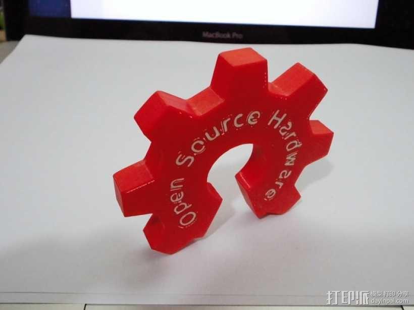 开源硬件标识 3D模型  图11