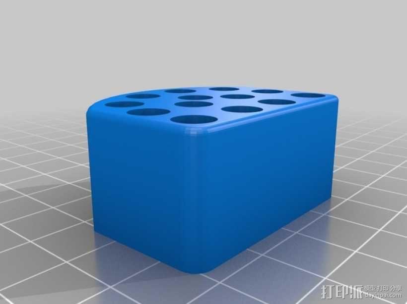 射击子弹盒 3D模型  图1
