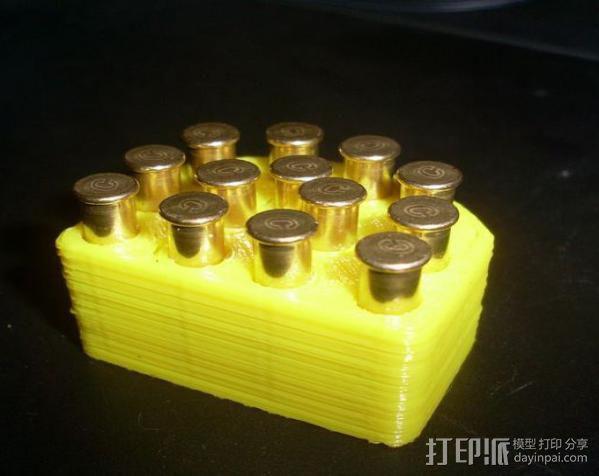 射击子弹盒 3D模型  图2