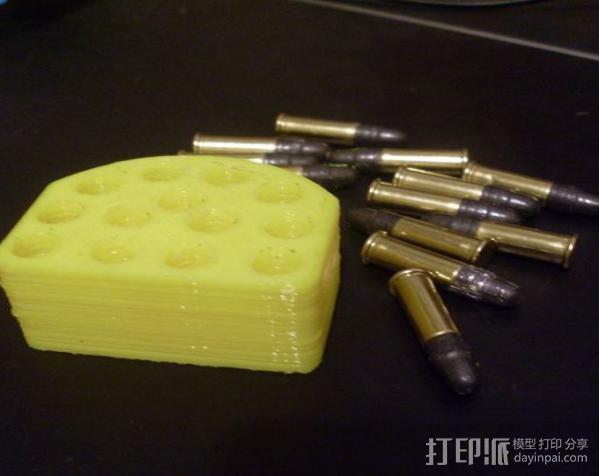 射击子弹盒 3D模型  图4