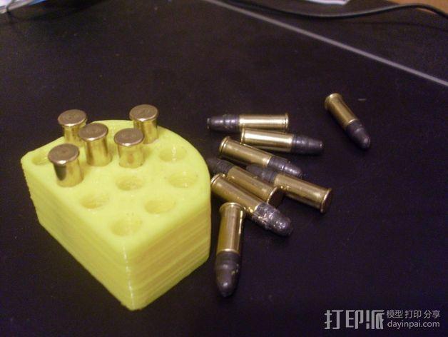 射击子弹盒 3D模型  图3