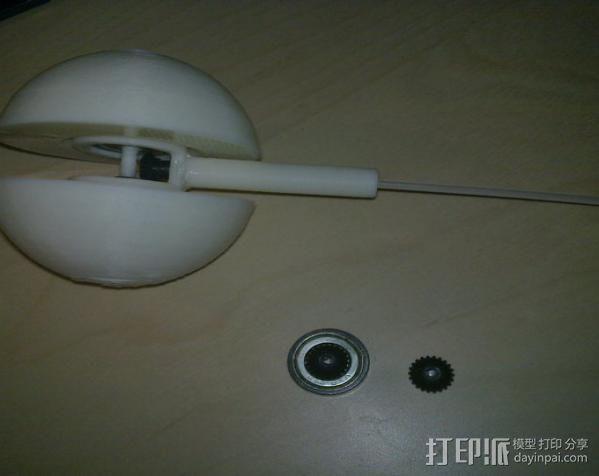 迷你球 3D模型  图3