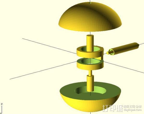 迷你球 3D模型  图5