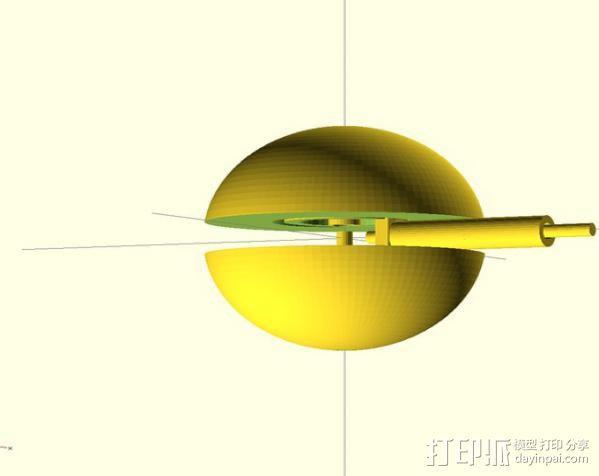 迷你球 3D模型  图4