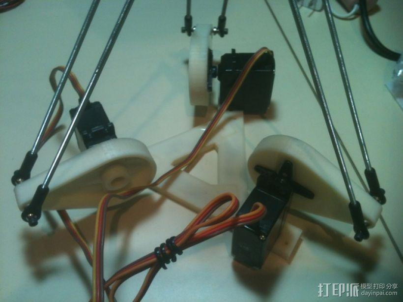 三臂机器人 3D模型  图4