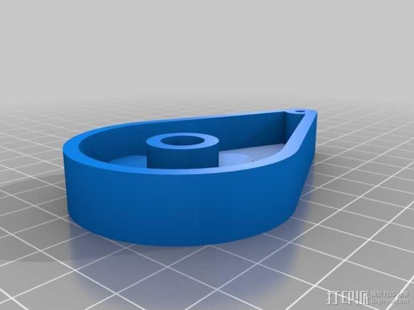 三臂机器人 3D模型  图7