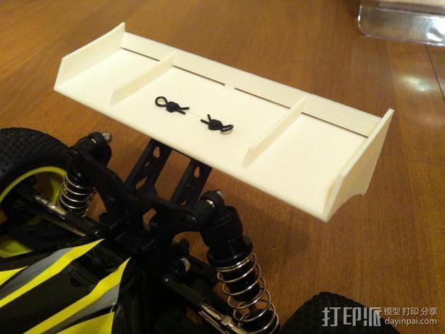 迷你尾翼板 3D模型  图5