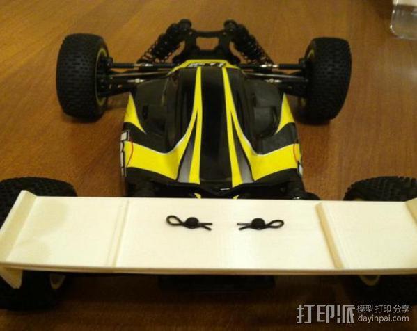 迷你尾翼板 3D模型  图3
