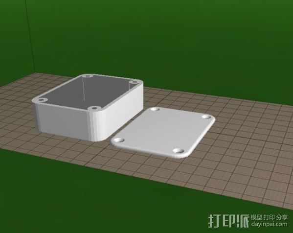 工具盒子 3D模型  图3