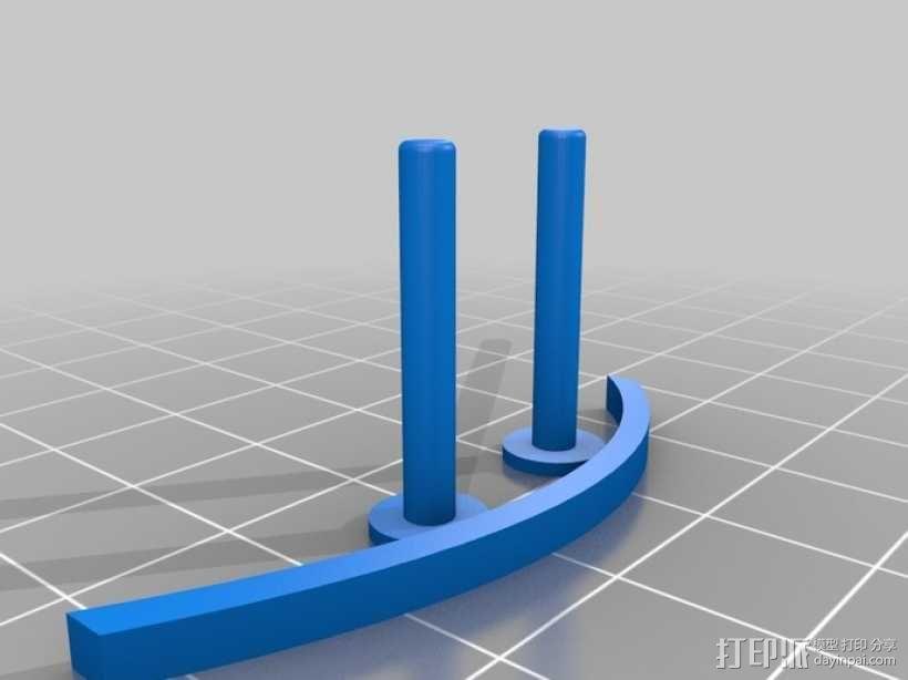 飞镖手枪 3D模型  图1
