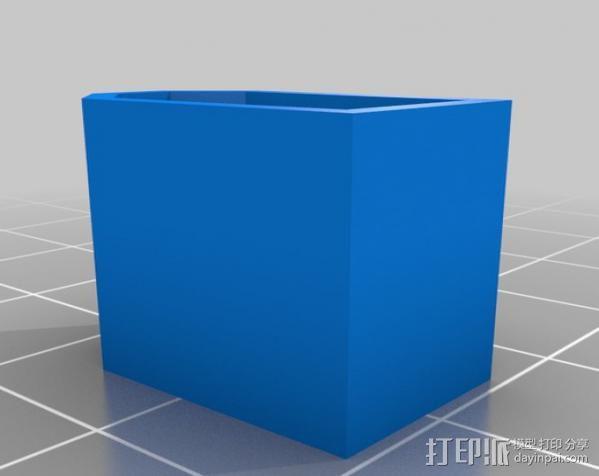 XT60印刷帽 3D模型  图1