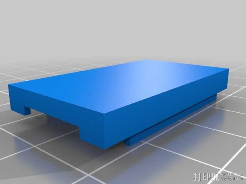 FTDI 适配器外壳 3D模型  图1