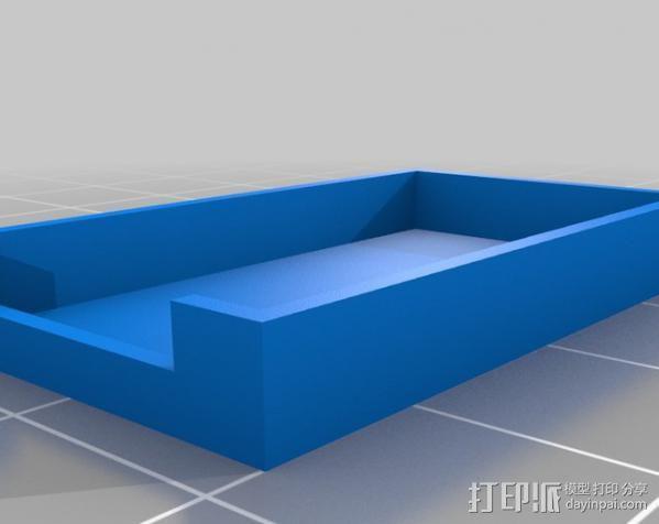 FTDI 适配器外壳 3D模型  图2