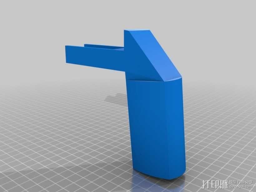 702手握枪把 3D模型  图1