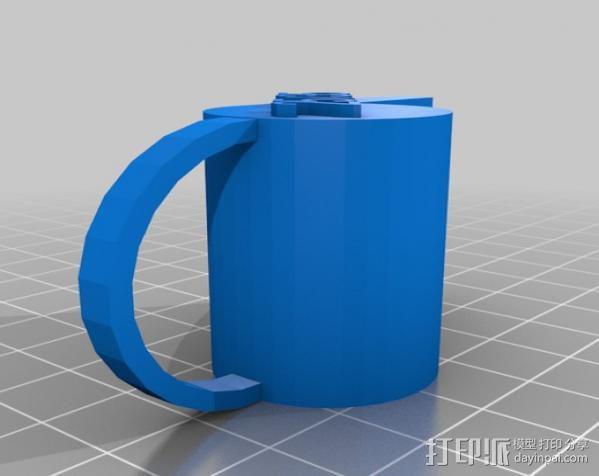 哨子集合 3D模型  图1