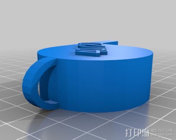 哨子集合 3D模型  图2