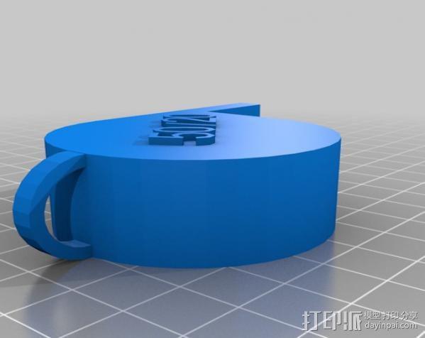 哨子集合 3D模型  图3
