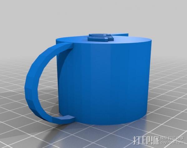 哨子集合 3D模型  图4
