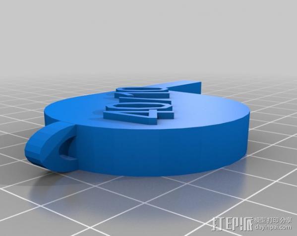 哨子集合 3D模型  图7
