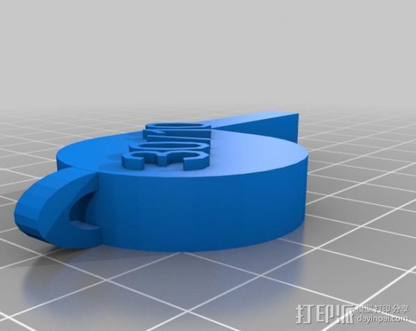 哨子集合 3D模型  图6