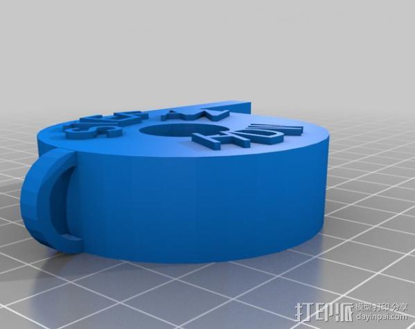 哨子集合 3D模型  图15