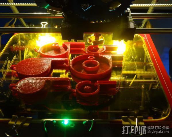 哨子集合 3D模型  图16