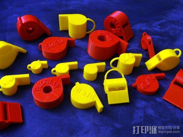 哨子集合 3D模型  图17