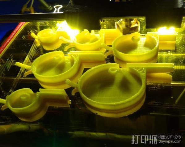 哨子集合 3D模型  图21