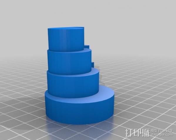 哨子集合 3D模型  图25