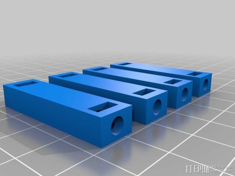 四足动物机器人 3D模型  图6