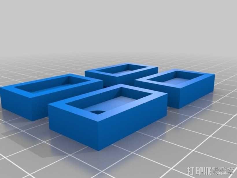 四足动物机器人 3D模型  图7