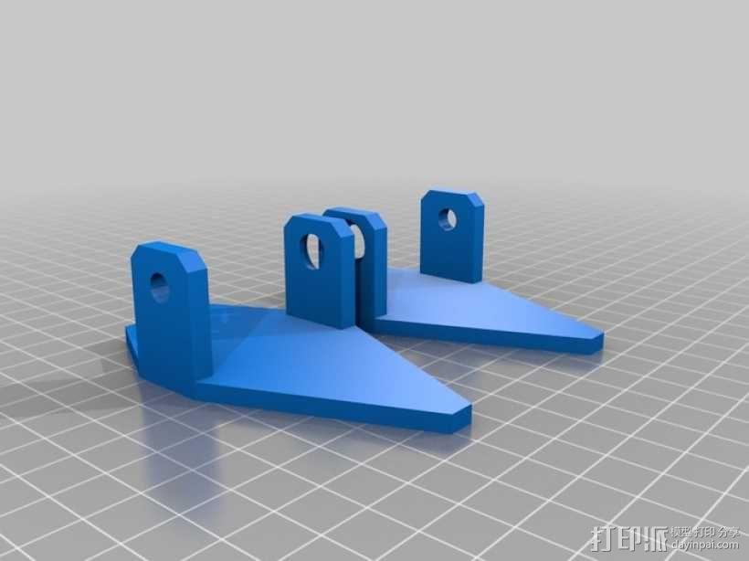 四足动物机器人 3D模型  图10