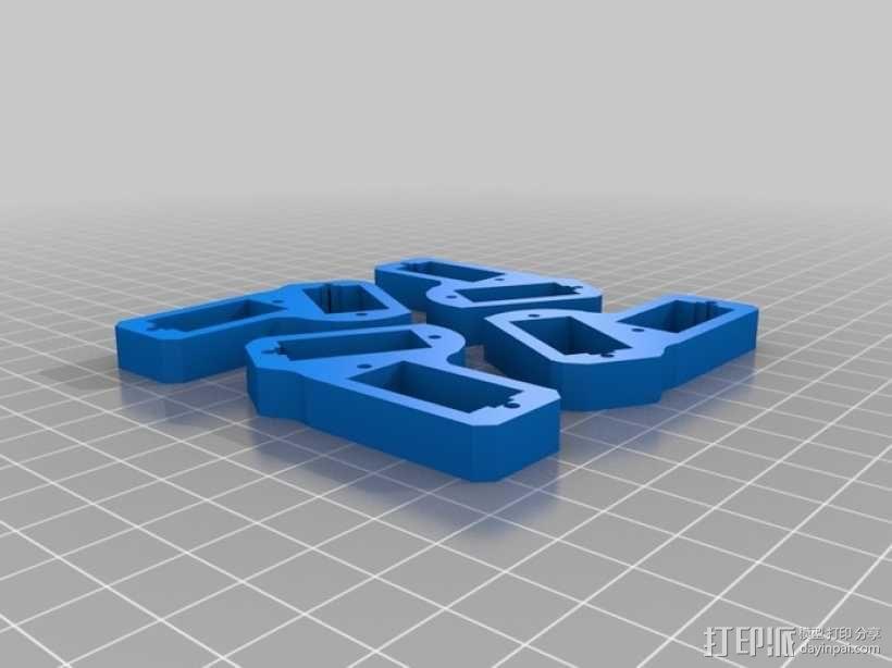 四足动物机器人 3D模型  图9