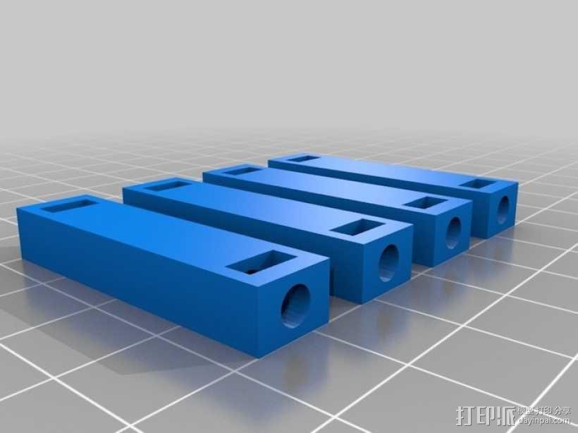 四足动物机器人 3D模型  图11