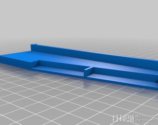 参数案板工作站 3D模型  图3