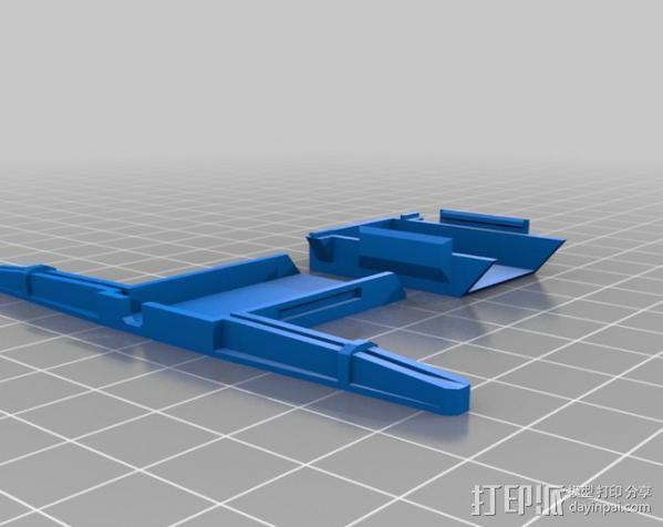 AR 6100E盖子 3D模型  图1
