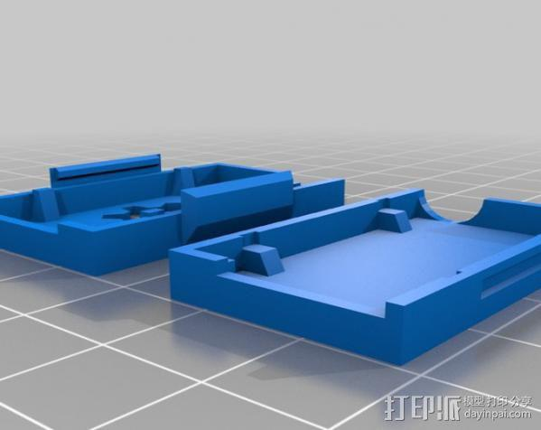 3DR无线电盒 3D模型  图2