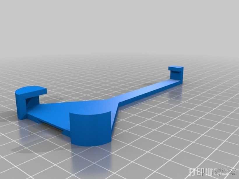iPhone 5自行车固定支架 3D模型  图1