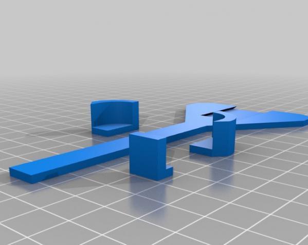 iPhone 5自行车固定支架 3D模型  图2
