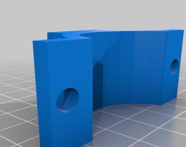 iPhone 5自行车固定支架 3D模型  图4