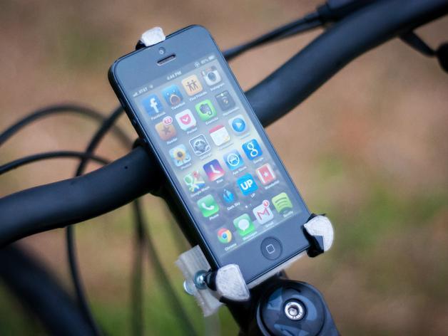 iPhone 5自行车固定支架 3D模型  图3