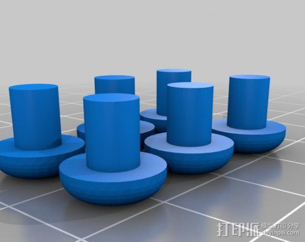 曲棍冰球 3D模型  图2