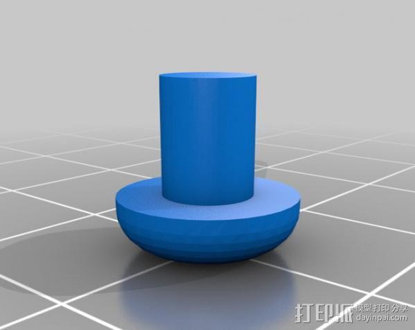 曲棍冰球 3D模型  图3