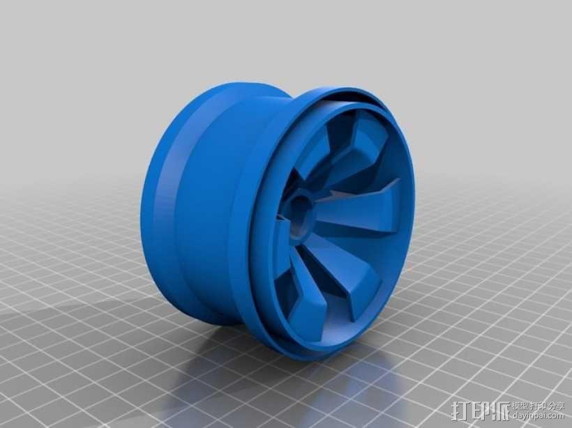 车轮 3D模型  图6
