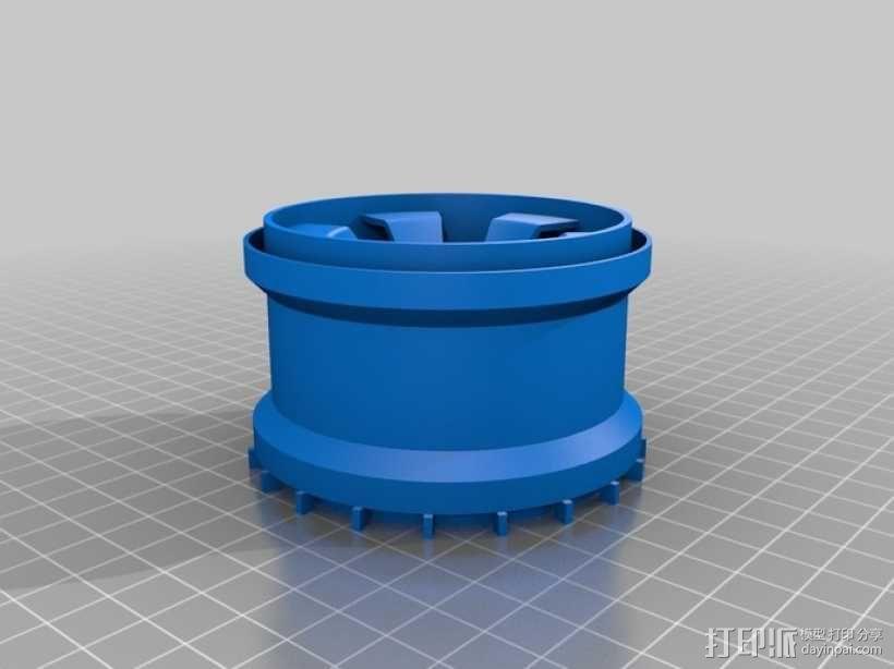 车轮 3D模型  图5