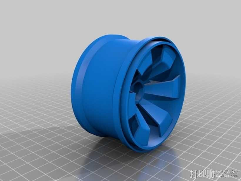 车轮 3D模型  图7